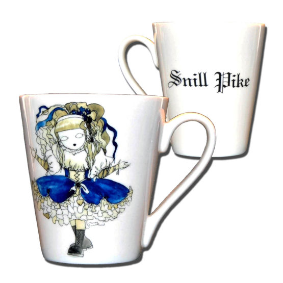 Snill Pike collection Cup design Anna Strøm
